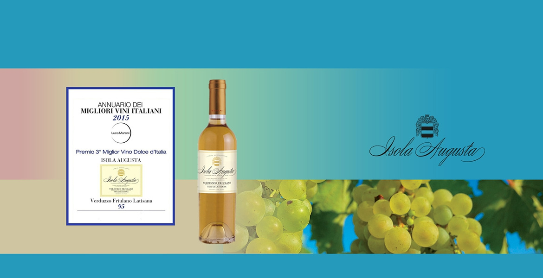 Vins moelleux Bruxelles Isola Augusta