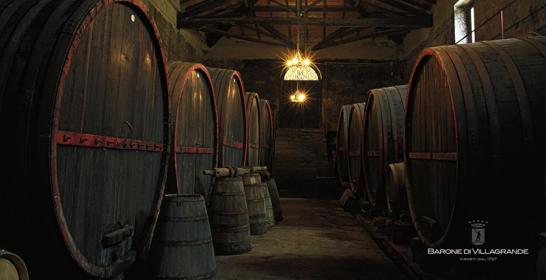 Vins rosé Barone Villa grande