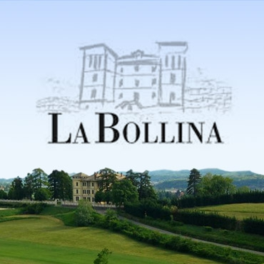 De rode wijnen bij La Bollina