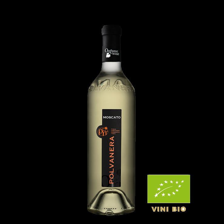 Witte wijn - Polvanera - Moscato Secco