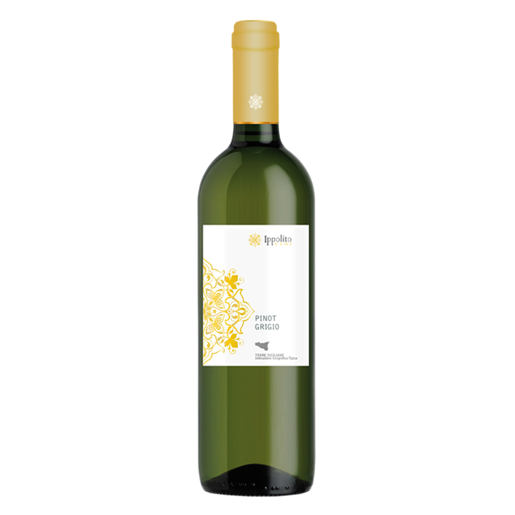 Witte wijn - Ippolito Vini - Pinot Grigio
