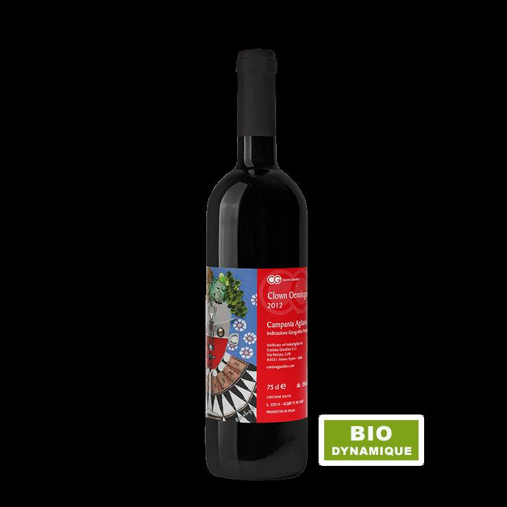 Vin rouge - Cantina Giardino - Clown Oenologue
