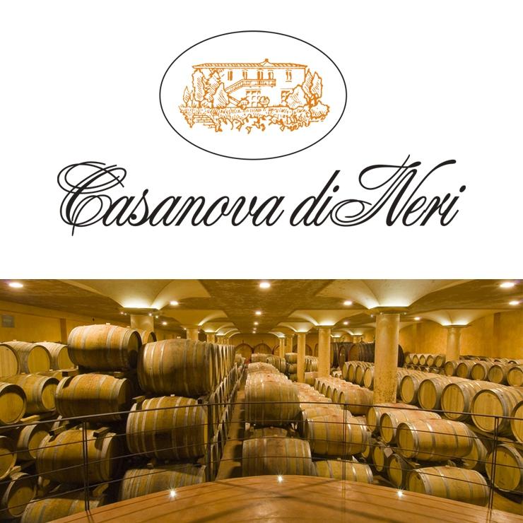 Les vins rouges chez Casanova di Neri