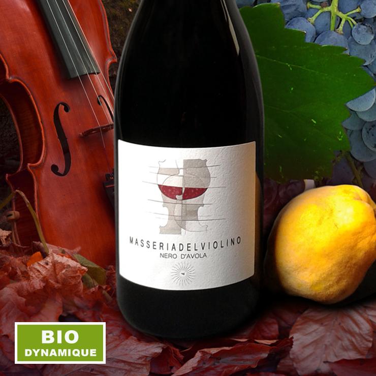 Les vins rouges chez Masseria del Violino